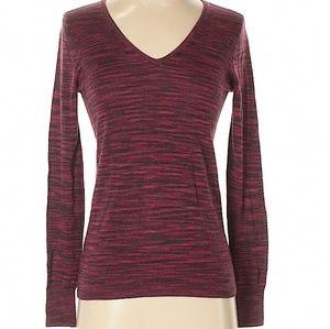 😽5 for $25 Ann Taylor LOFT Burgundy Sweater